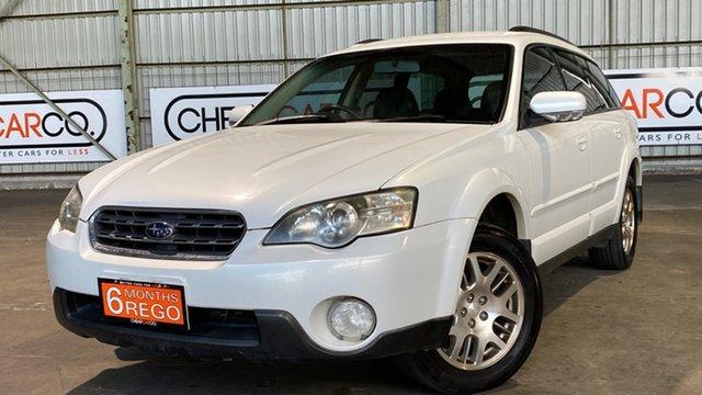 Used Subaru Outback B4A MY06 AWD Rocklea, 2006 Subaru Outback B4A MY06 AWD White 4 Speed Sports Automatic Wagon