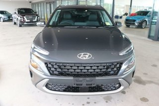 2021 Hyundai Kona Os.v4 MY21 Elite 2WD Dark Knight 8 Speed Constant Variable Wagon.