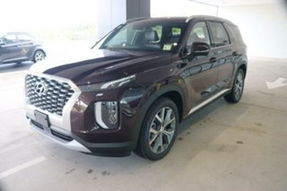 2021 Hyundai Palisade LX2.V1 MY21 Highlander AWD Sierra Burgundy 8 Speed Sports Automatic Wagon.
