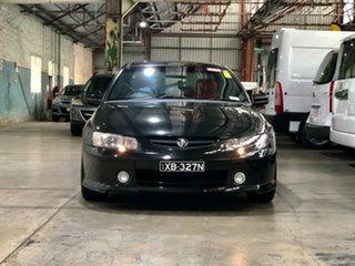 2004 Holden Commodore VY II SS Black 4 Speed Automatic Sedan.