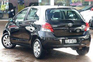 2009 Toyota Yaris NCP91R 08 Upgrade YRS Black 5 Speed Manual Hatchback.