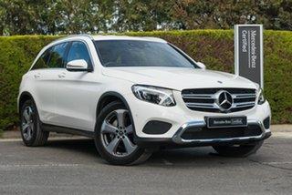 2018 Mercedes-Benz GLC-Class X253 808MY GLC220 d 9G-Tronic 4MATIC Polar White 9 Speed.