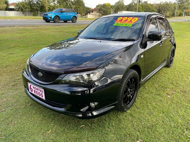 Used Subaru Impreza G3 MY08 RX AWD Clontarf, 2007 Subaru Impreza G3 MY08 RX AWD Black 5 Speed Manual Hatchback