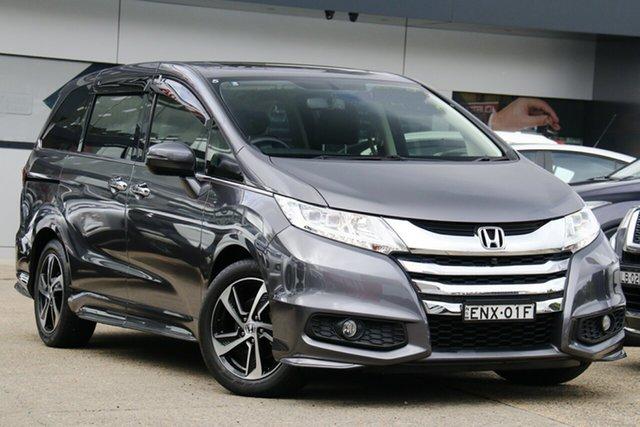 Used Honda Odyssey RC MY16 VTi-L Homebush, 2016 Honda Odyssey RC MY16 VTi-L Grey 7 Speed Constant Variable Wagon