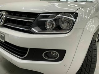 2014 Volkswagen Amarok 2H MY14 TDI420 4Motion Perm Highline White 8 Speed Automatic Utility