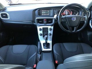 2015 Volvo V40 M Series MY15 D2 PwrShift Kinetic White 6 Speed Sports Automatic Dual Clutch