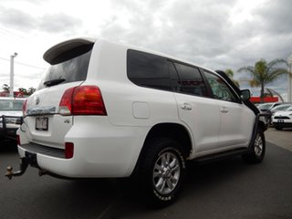 2015 Toyota Landcruiser VDJ200R MY13 GXL (4x4) Glacier White 6 Speed Automatic Wagon.