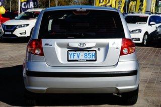 2005 Hyundai Getz TB MY05 FX Grey 4 Speed Automatic Hatchback