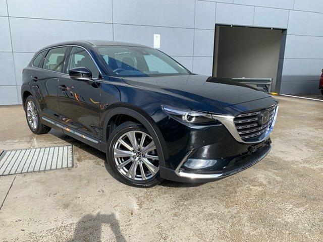 New Mazda CX-9 TC Azami SKYACTIV-Drive i-ACTIV AWD Alexandria, 2021 Mazda CX-9 TC Azami SKYACTIV-Drive i-ACTIV AWD Jet Black 6 Speed Sports Automatic Wagon