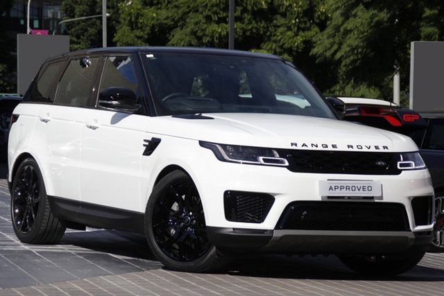 Used Land Rover Range Rover Sport L494 21.5MY DI6 183kW SE Newstead, 2021 Land Rover Range Rover Sport L494 21.5MY DI6 183kW SE White 8 Speed Sports Automatic Wagon