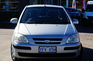 2005 Hyundai Getz TB MY05 FX Grey 4 Speed Automatic Hatchback.