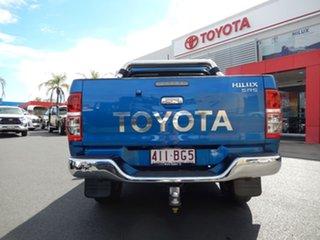 2014 Toyota Hilux KUN26R MY14 SR5 (4x4) Tidal Blue 5 Speed Manual Dual Cab Pick-up
