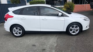 2014 Ford Focus LW MkII Trend PwrShift White 6 Speed Sports Automatic Dual Clutch Hatchback.