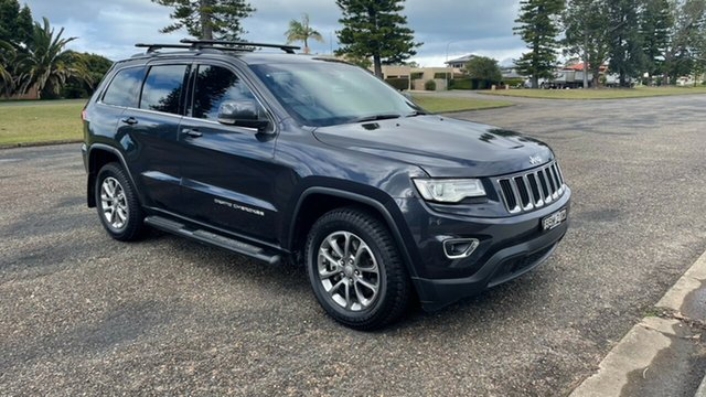 Used Jeep Grand Cherokee WK MY15 Laredo Port Macquarie, 2014 Jeep Grand Cherokee WK MY15 Laredo Grey 8 Speed Sports Automatic Wagon