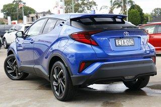 2020 Toyota C-HR NGX50R Koba S-CVT AWD Nebula Blue 7 Speed Constant Variable Wagon.