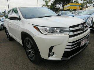 2019 Toyota Kluger GSU55R GX AWD White 8 Speed Sports Automatic Wagon.