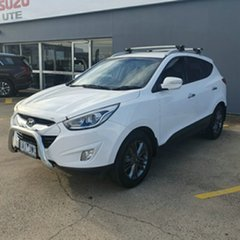 2013 Hyundai ix35 LM3 Elite White 6 Speed Sports Automatic Wagon