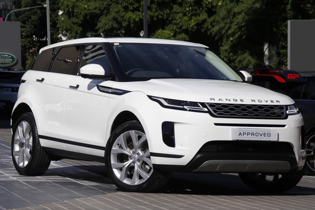Used Land Rover Range Rover Evoque L551 MY20 SE Newstead, 2019 Land Rover Range Rover Evoque L551 MY20 SE White 9 Speed Sports Automatic Wagon