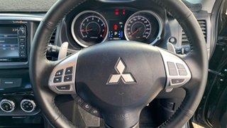 2014 Mitsubishi Lancer CJ MY14 VR-X Black 6 Speed CVT Auto Sequential Sedan