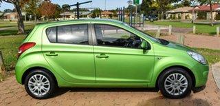 2012 Hyundai i20 PB MY12 Active Green 4 Speed Automatic Hatchback