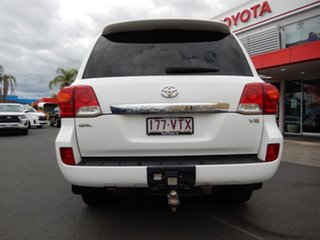 2015 Toyota Landcruiser VDJ200R MY13 GXL (4x4) Glacier White 6 Speed Automatic Wagon