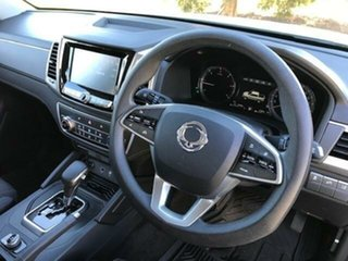 2020 Ssangyong Musso Q200S MY20 ELX White 6 Speed Automatic Dual Cab Utility