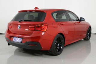 2017 BMW 118i F40 M Sport Red 8 Speed Automatic Hatchback