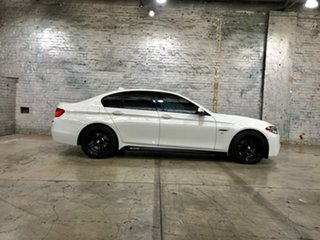 2013 BMW 5 Series F10 LCI 528i Steptronic Luxury Line White 8 Speed Sports Automatic Sedan