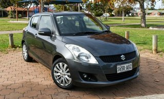 2013 Suzuki Swift FZ GLX Grey 5 Speed Manual Hatchback.
