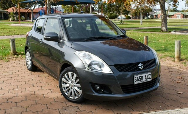 Used Suzuki Swift FZ GLX Ingle Farm, 2013 Suzuki Swift FZ GLX Grey 5 Speed Manual Hatchback