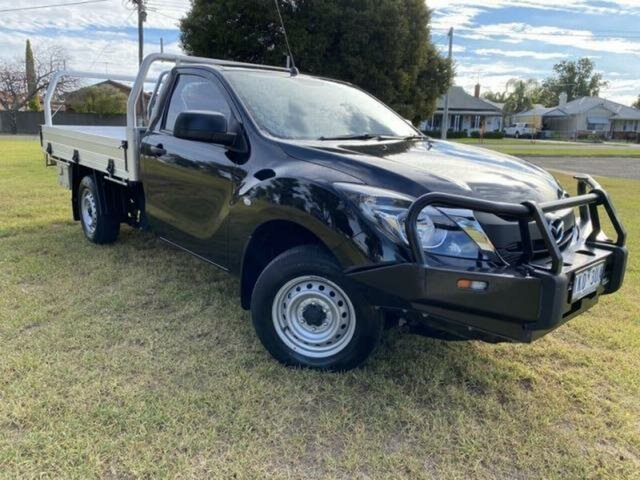Used Mazda BT-50 MY16 XT (4x2) Wangaratta, 2017 Mazda BT-50 MY16 XT (4x2) Black 6 Speed Manual Cab Chassis
