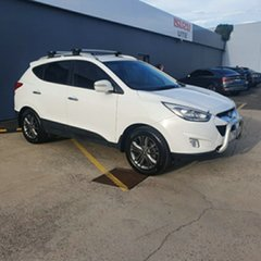 2013 Hyundai ix35 LM3 Elite White 6 Speed Sports Automatic Wagon.