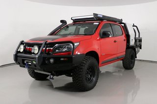 2017 Holden Colorado RG MY17 Z71 (4x4) Red 6 Speed Automatic Crew Cab Pickup.