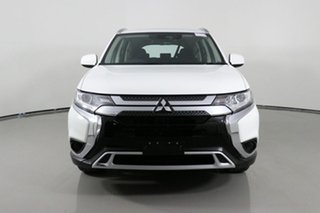 2019 Mitsubishi Outlander ZL MY20 ES 7 Seat (AWD) White Continuous Variable Wagon.