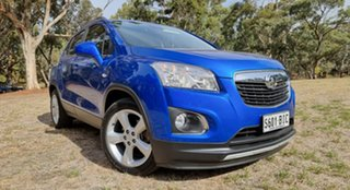 2015 Holden Trax TJ MY15 LTZ Blue 6 Speed Automatic Wagon.