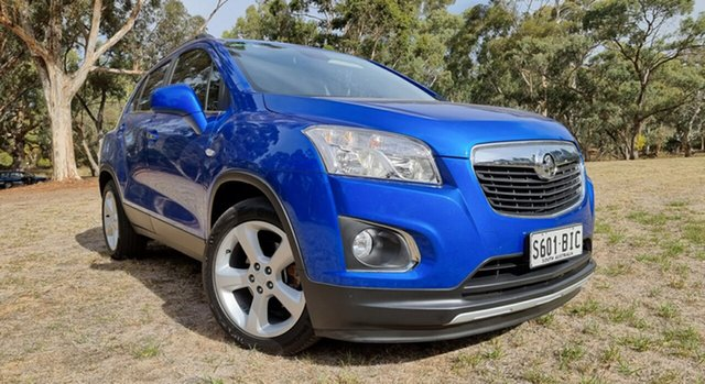 Used Holden Trax TJ MY15 LTZ Nuriootpa, 2015 Holden Trax TJ MY15 LTZ Blue 6 Speed Automatic Wagon