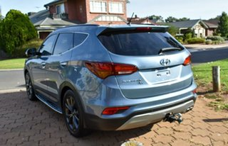 2016 Hyundai Santa Fe DM3 MY17 30 2WD Special Edition Blue 6 Speed Sports Automatic Wagon