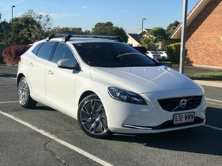 2015 Volvo V40 M Series MY15 D2 PwrShift Kinetic White 6 Speed Sports Automatic Dual Clutch.