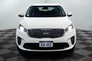 2018 Kia Sorento UM MY18 Si AWD White 8 Speed Sports Automatic Wagon.