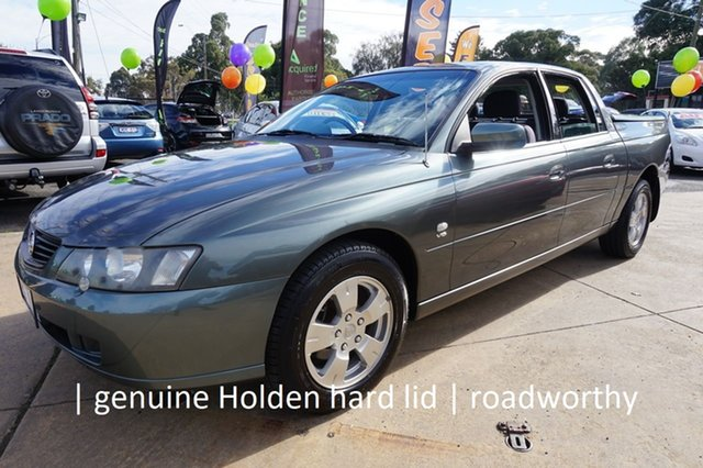 Used Holden Crewman VY II S Dandenong, 2004 Holden Crewman VY II S Turbine 4 Speed Automatic Utility