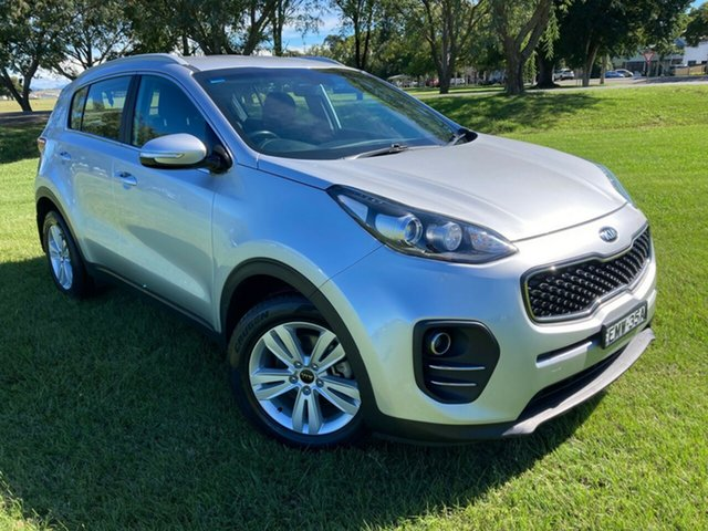 Pre-Owned Kia Sportage QL MY17 Si 2WD South Grafton, 2016 Kia Sportage QL MY17 Si 2WD Silver 6 Speed Sports Automatic Wagon