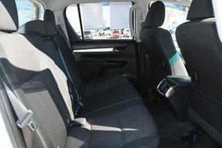 2018 Toyota Hilux GUN126R SR5 Double Cab Glacier White 6 Speed Sports Automatic Utility
