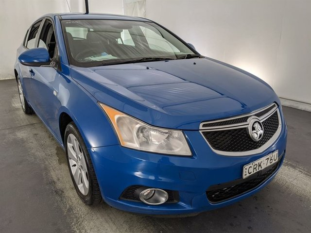 Used Holden Cruze JH Series II MY14 Equipe Maryville, 2014 Holden Cruze JH Series II MY14 Equipe Blue 6 Speed Sports Automatic Hatchback