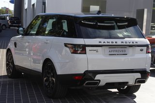 2021 Land Rover Range Rover Sport L494 21.5MY DI6 183kW SE White 8 Speed Sports Automatic Wagon.