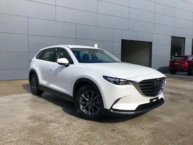 New Mazda CX-9 TC Touring SKYACTIV-Drive Alexandria, 2021 Mazda CX-9 TC Touring SKYACTIV-Drive Snowflake White 6 Speed Sports Automatic Wagon