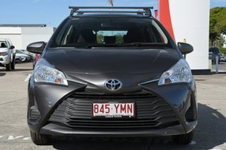 2018 Toyota Yaris NCP130R Ascent Graphite 4 Speed Automatic Hatchback