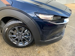 2021 Mazda CX-30 DM2W7A G20 SKYACTIV-Drive Pure Deep Crystal Blue 6 Speed Sports Automatic Wagon.