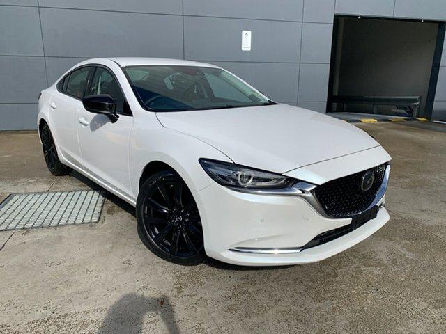 New Mazda 6 GL1033 GT SP SKYACTIV-Drive Alexandria, 2021 Mazda 6 GL1033 GT SP SKYACTIV-Drive Snowflake White 6 Speed Sports Automatic Sedan