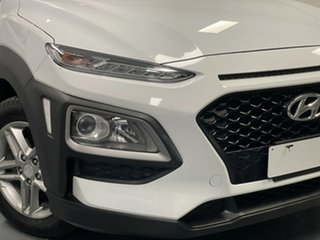 2019 Hyundai Kona OS.2 MY19 Active 2WD White 6 Speed Sports Automatic Wagon.