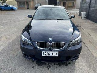 2006 BMW 5 Series E60 530i Steptronic Blue 6 Speed Sports Automatic Sedan.